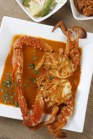 indian cookery: Crab Curry