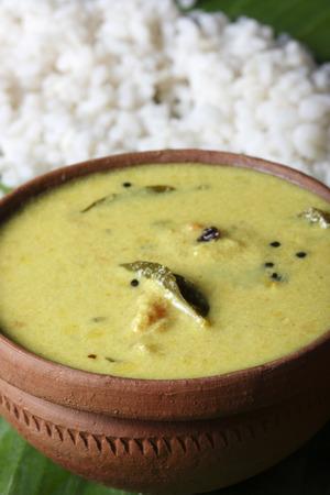 indian cookery: Moru curry or kalan