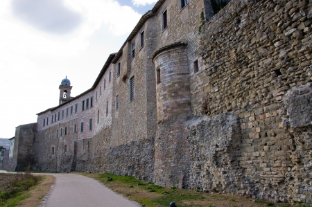 bevagna: The wall of Bevagna in Umbria