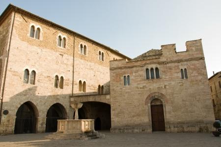 bevagna: Square of Bevagna