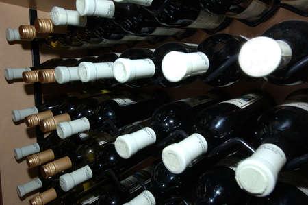 Wine Rack Stock Photo - 246471