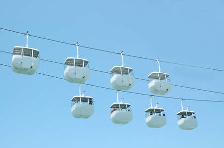 hanikra: Cable Car Stock Photo
