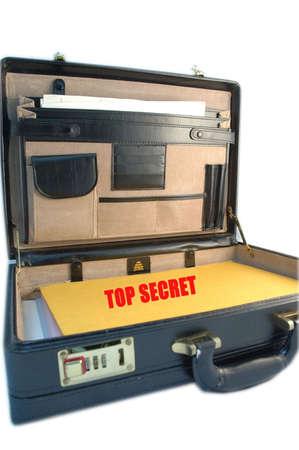 saddlebag: Briefcase - Top Secret