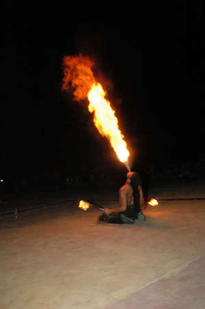 ouch: Fire Eater