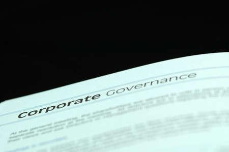governance: Corporate Governance