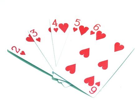 jeu de cartes: Jeu de cartes Banque d'images