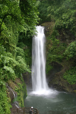 Wonderful La Paz Waterfall in Costa Rica Stock Photo - 7790217