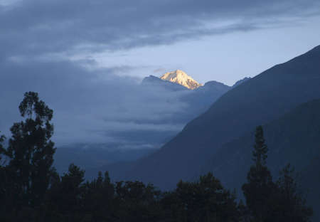 Sunrise at the Andes