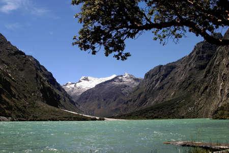 Llanguanuko Lake