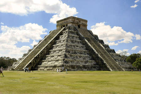 Kukulkan Pyramid at Chichen Itza