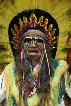 Peruvian Dancer Stok Fotoğraf