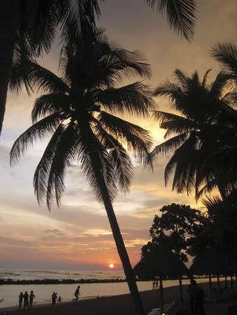 A lovely sunset at El Salvador Beach