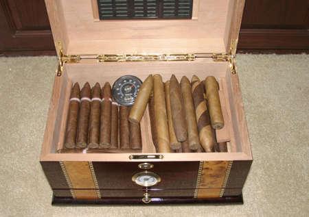 An Elegant Cigar Hummidor