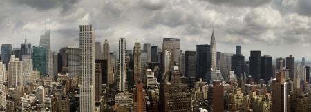 Panoramic view of Midtown Manhattan