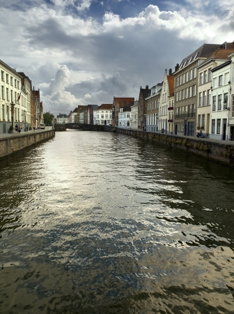 The city of Bruges is famous for its canals