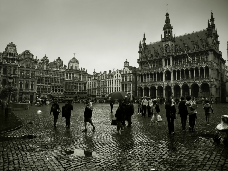 The Grand Place is the heart of the historic city of Brussels