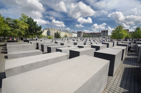 murdered: Memorial to the Murdered Jews of Europe, in Berlin