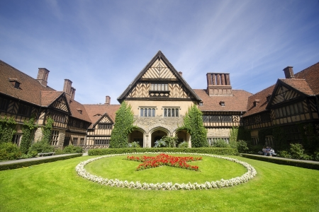 Schloss Cecilienhof is a palace located in Neuer Garten  Potsdam , where the Potsdam Conference took place in 1945 Editorial