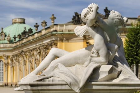 Statues in the Park of Sanssouci, in Potsdam