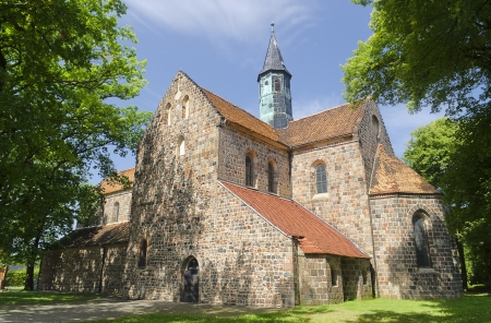 Cistercian Monastery in Kloster Zinna, Germany