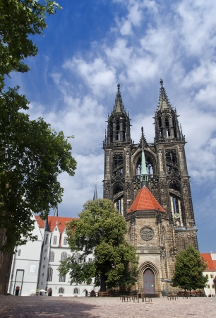 Cathedral in the Domplatz of Meissen