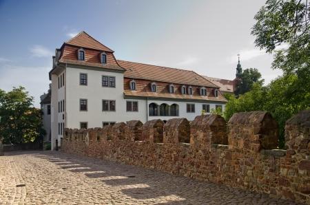 Bridge of the Castle in the Center of Meissen