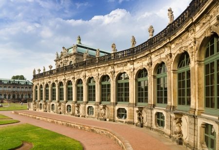 The Zwinger, Famous Palace in Dresden