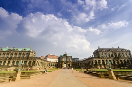 The Zwinger is a famous Rococo Palace in the City of Dresden
