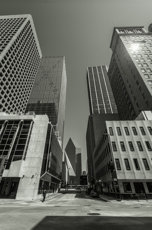 Skyscrapers in Downtown Dallas