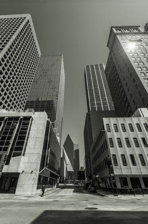 Skyscrapers in Downtown Dallas
