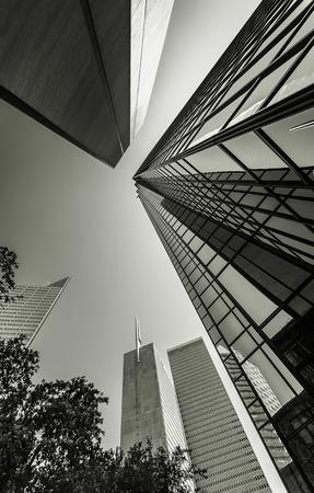 Tall Skyscrapers in Dallas Editorial