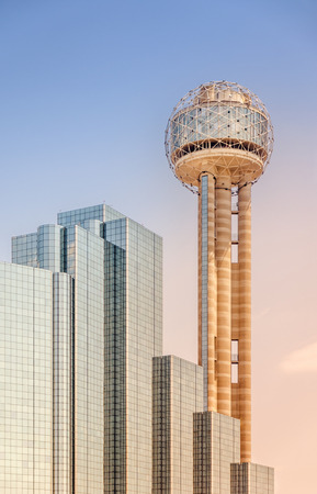 Tower and Skyscraper in Downtown Dallas