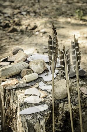 Set of Arrows of Native American Cherokees
