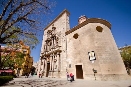 Church in the Plaza del Carmen, Valencia