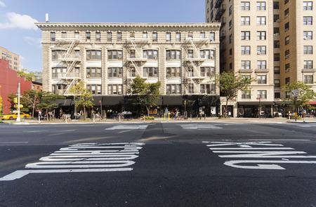 Buildings along Ninth Avenue, New York Editorial
