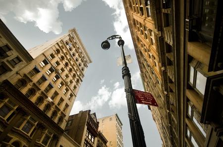 An Eveneing Walk in the SoHo, New York