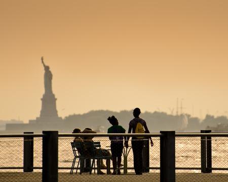 Brooklyn Promenade and Statue of Liberty