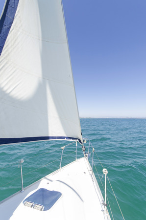 Bow of a Sailing Ship