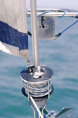 Rope Spool in a Sailing Ship
