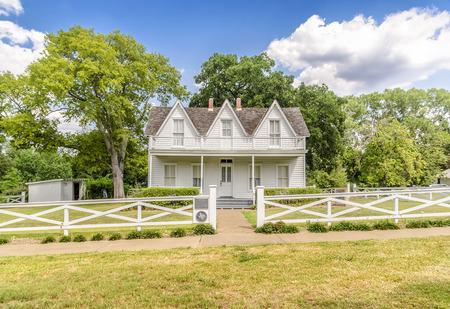 eisenhower: House where president Eisenhower was born in Denison, Texas