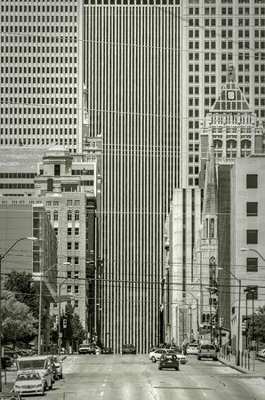 Boston Avenue, in Downtown Tulsa.