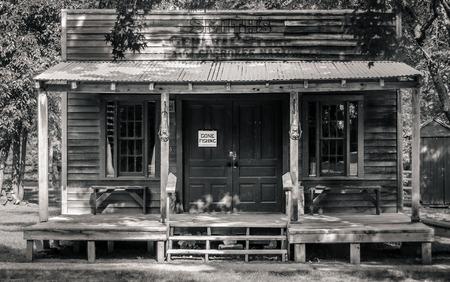House in a Western Village