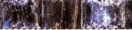 Photographic film. Deteriorated large2. Colour. Stock Photo