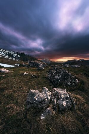 Image taken in the region of the canton Appenzelle in the Swiss Alps.