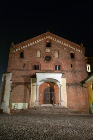 the abbey: Morimondo Abbey