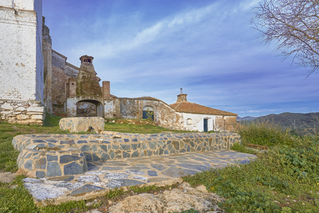 An ancient sanctuary built in the fifteenth century near the village of Fuente del Arco (Badajoz, Spain). There is an anual pilgrimage and it has numerous devotes.