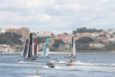 4 5: Extreme Sailing Series, Act 4, 5 of July 2012, Porto, Portugal