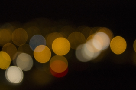 Defocused lights from different colours Stock Photo - 17113018