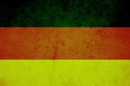 germany vintage flag photo
