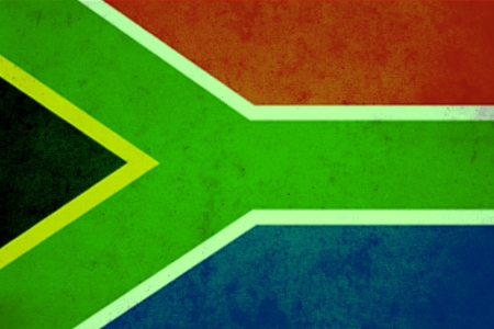 South africa vintage flag photo